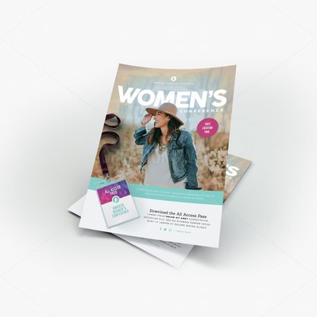 Women's Conference Flyer (55495)