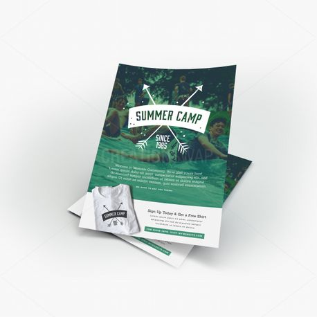 Summer Camp Flyer (55585)