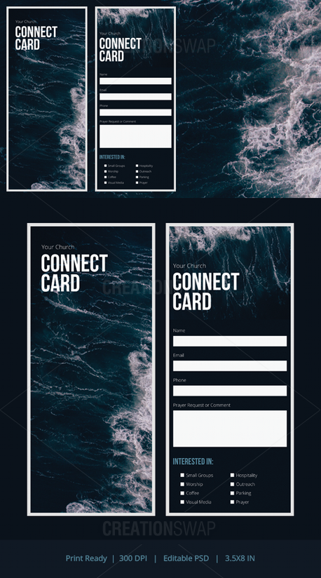 Connection Card (55994)