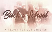 Back To School (A Prayer)