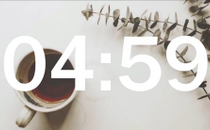 Coffee 5 Minute Countdown