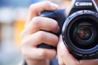 Camera up close
