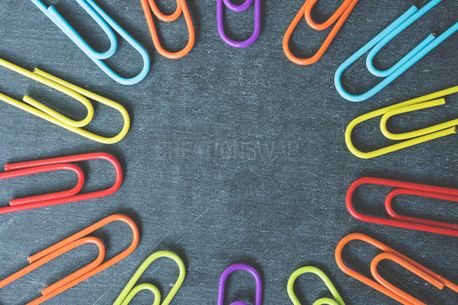 Colorful Paperclips (56615)