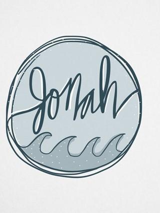 Jonah Watercolor Graphic