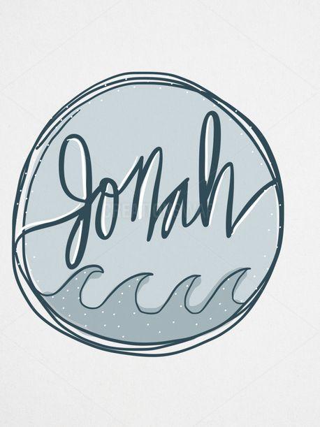 Jonah Watercolor Graphic (56684)