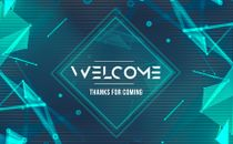 Abstract Welcome Set