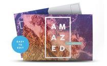 AMAZED Postcards