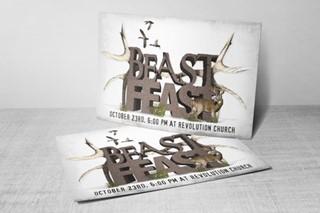 Beast Feast Postcard