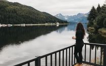 Morning Coffee on the lake