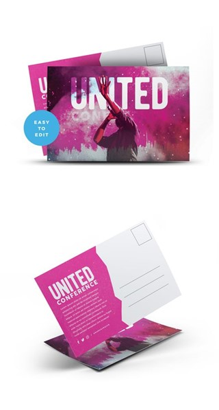 United Conference Postcard
