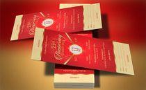 Red Gold Banquet Ticket