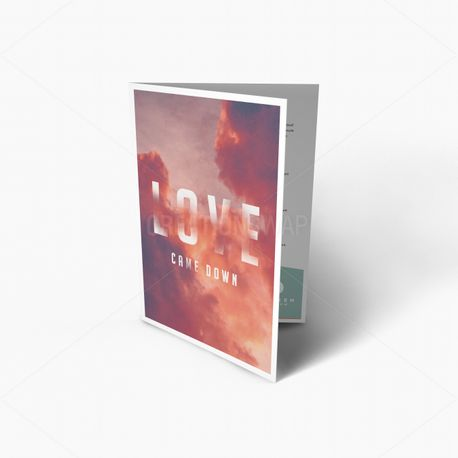 Love Came Down Bulletin (58266)
