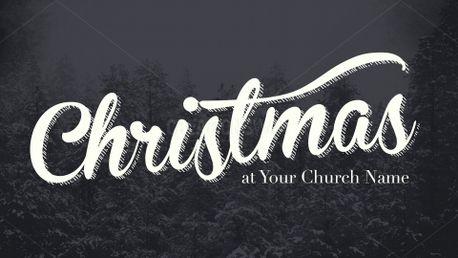 Snowy Woods Christmas Slides (58521)
