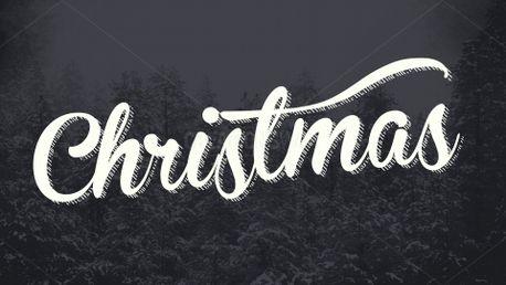 Snowy Woods Christmas Slide (58536)