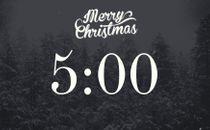 Snowy Christmas Countdown