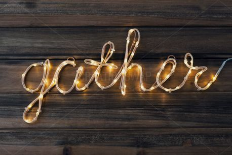 Gather light wood background (58905)