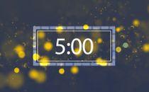 Blue Tritone Countdown
