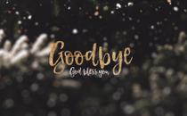 Christmas Snow Goodbye