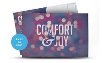Comfort & Joy Postcard