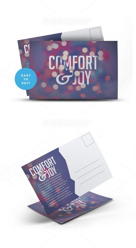 Comfort & Joy Postcard (59671)