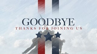 Veterans Day Goodbye
