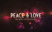 Blurry Christmas Peace & Love