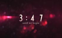 Blurry Christmas Countdown