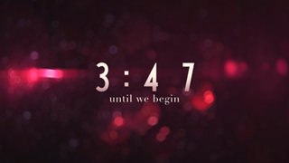 Blurry Christmas Countdown
