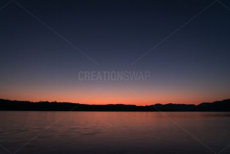 Sunset Over Lake (59928)
