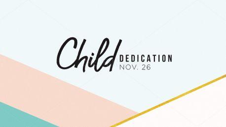 Child Dedication Slide 59936