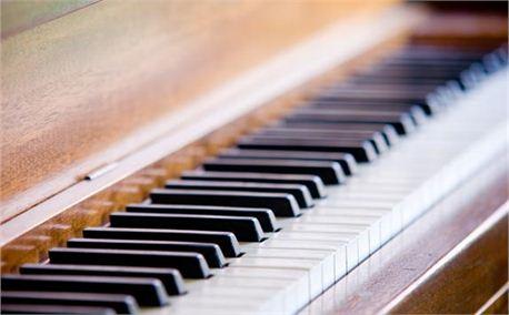 Piano Keyboard @ an Angle (6233)