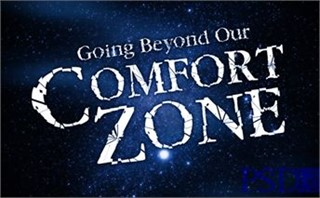 Going Beyond Our Comfort Zone