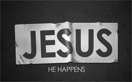 JESUS HAPPENS (6932)