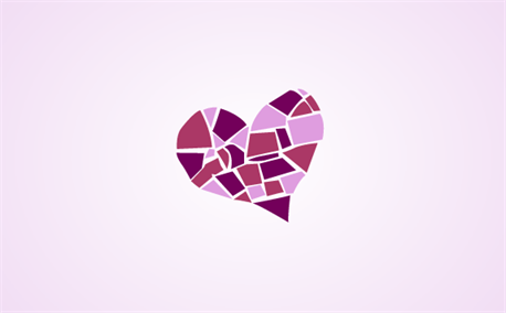Mosaic Heart (6994)