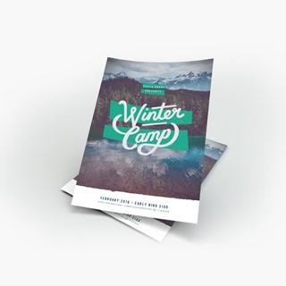 Winter Camp Flyer