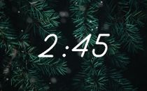Snow & Trees Countdown