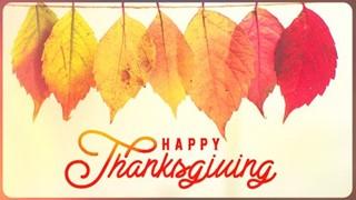 Thanksgiving Vol 2 Title