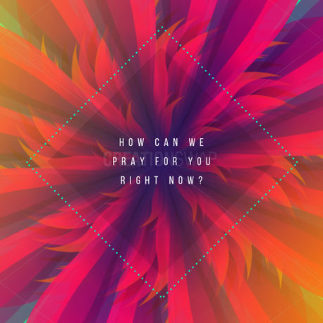 How can we pray for you (60293)