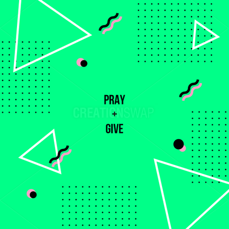 Pray and Give (60338)