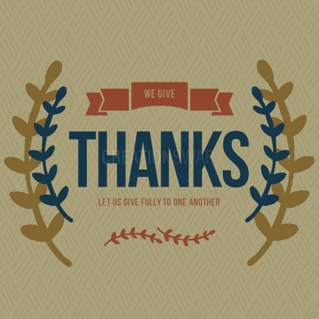 Give thanks (60354)