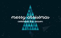 Triangle Christmas Title