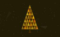 Triangle Christmas Loop 2