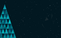 Triangle Christmas Loop 3
