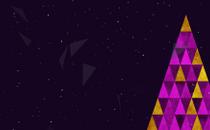 Triangle Christmas Loop 4
