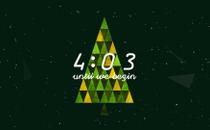 Triangle Christmas Countdown
