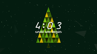 Triangle Christmas Countdown