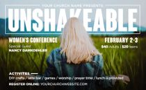 Unshakeable Women's Conference