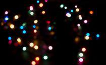 Scattered Multicolor Lights