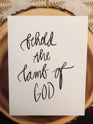 Behold the Lamb of God Photo