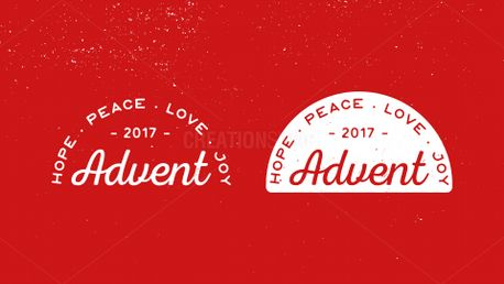 Advent Badge (61049)